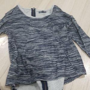 Maternity high low shirt